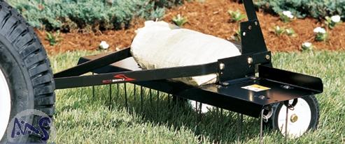 vertikutierer entmooser rasenl fter f r rasentraktor 102. Black Bedroom Furniture Sets. Home Design Ideas
