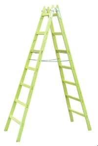 PROT Holz-Stehleitern 2x7 - PHSL27