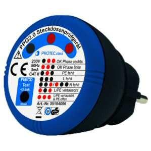 Steckdosenprüfgerät - PPG2.0