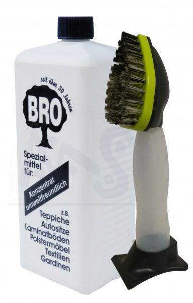 Bro Reiniger und Shampoonierbürste