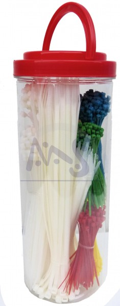Kabelbinder Sortimentsdose Inhalt: 850 Stück