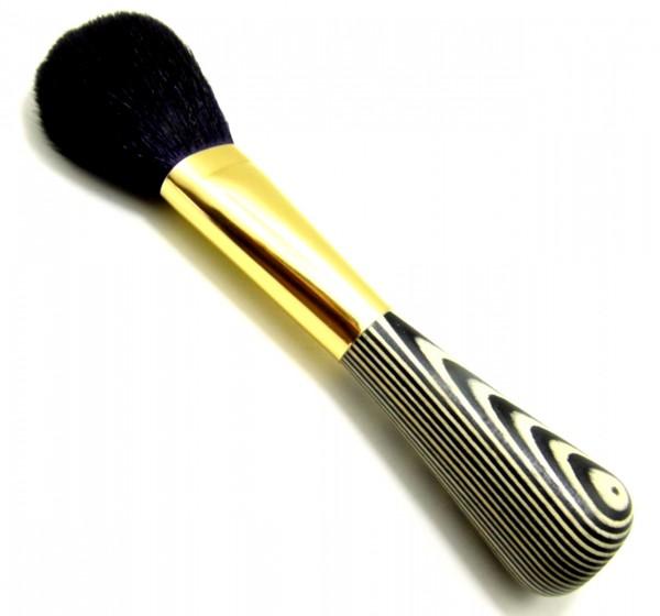 Puderpinsel schwarz/weiß