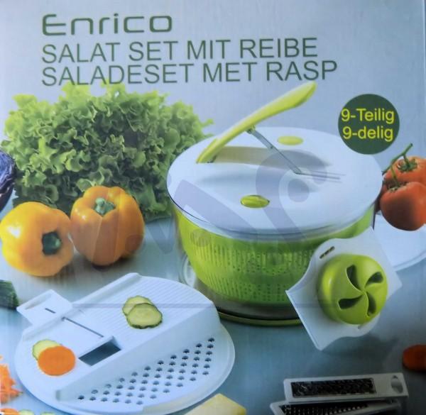 Enrico Salat Set mit Reibe