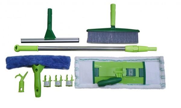 11 teile Reinigungsset Bodenwischer Fensterwischer