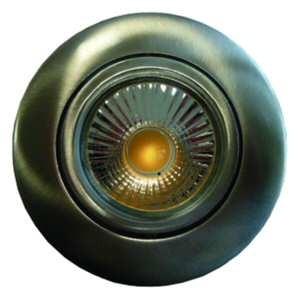 LED-Deckeneinbaustrahler - PESLED-NB nickel-gebürstet 05400527