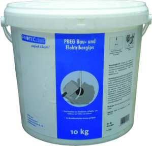 Bau- und Elektrikergips 10kg-Eimer - PBEG (MHD)