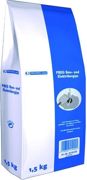 Bau- und Elektrikergips - PBEG 1.5 (MHD) 1,5kg